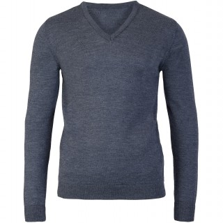 Rory Charcoal V Neck Sweater
