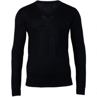 Rory Black V Neck Sweater