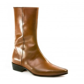 Sale : Low Lennon Boot - Vintage Tan Calf