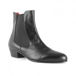 Archie Eyebrows : Karl Boot - Black Box Calf
