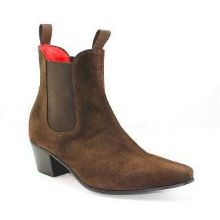 Sale : Original Chelsea Boot - Chocolate Suede
