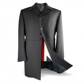 Ringo Frock Coat/Jacket (Abbey Road) - Black