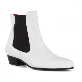 Bargain Basement : AE Karl Boot White