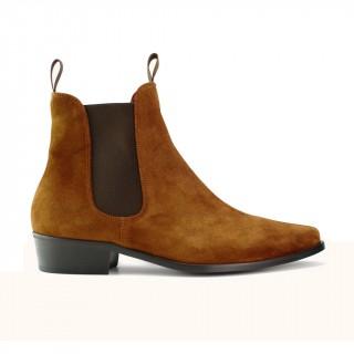 Sale : Classic Boot - Tan Italian Suede-45 (UK 11 / US 11.5)