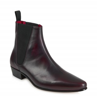 Discontinued Colour : Low Cavern Boot - Vintage Burgundy Burnished