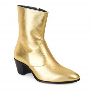 Reduced Sale Price : The DC5 Boot - Gold Leather