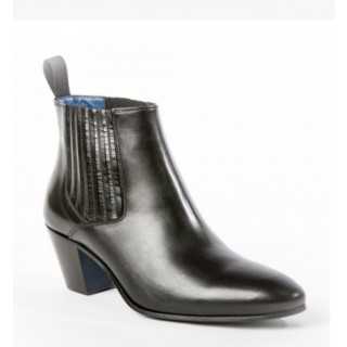Reduced Sale Price : Ringo Boot - Black Calf Leather
