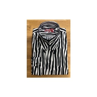 Sample Sale : Zebra - Long Pointed B/D SGL Cuff Shirt