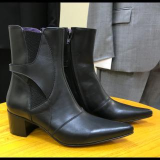 19-60 Winklepickers Ladies Ella Ankle Boot Size Eu 37
