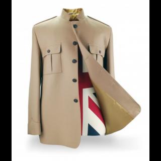Shea Stadium Jacket Buttons - Brown