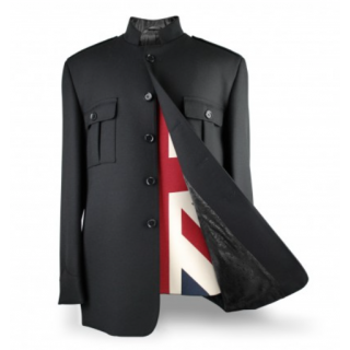 Shea Stadium Jacket Buttons - Black