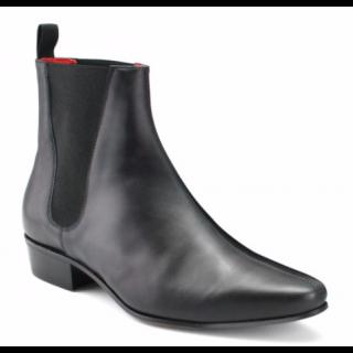 Beatwear Bargain : Low Cavern Boot in Black Calf
