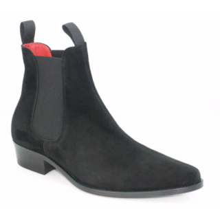 Beatwear Bargain : Classic Boot in Black Suede