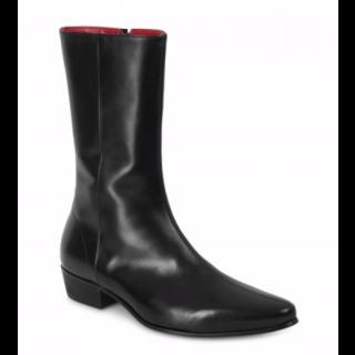 Beatwear Bargain : Low Lennon Boot in Black Calf Leather