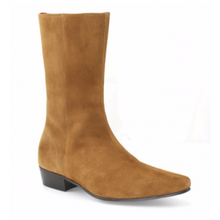 Beatwear Bargain : Low Lennon Boot in Tan Suede