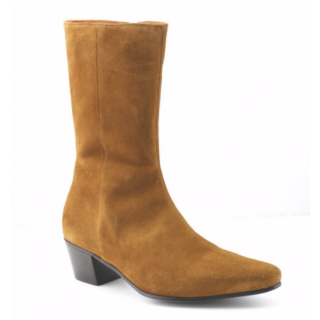 Beatwear Bargain : High Lennon Boot in Tan Suede