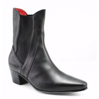 Discontinued Style : High Point Boot in Black Calf