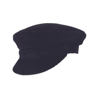 Black Mariner Cord Cap - Small