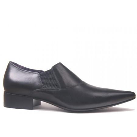 1960 Winkle.Picker : Chuck - Black Shoe