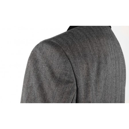 The Lennon Frock Coat Suit - Grey
