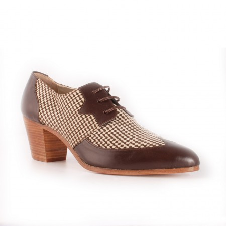 Archie Eyebrows : Amechi Shoe - Brown Box Calf & Brown Scotland