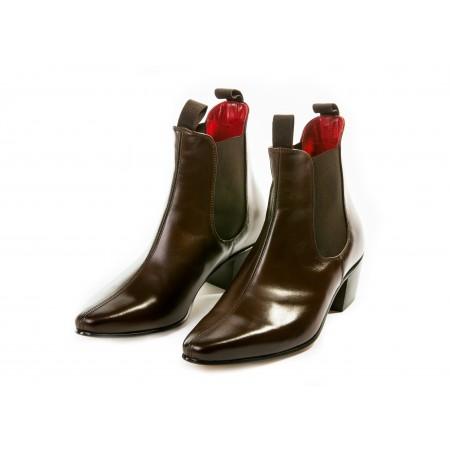 Sale : Original Chelsea Boot - Vintage Dark Brown Leather