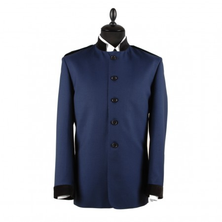 Gershwin Nehru Jacket - Persian Blue