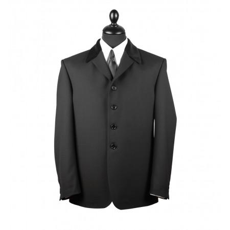 The Sullivan Jacket - Black Pure New Wool