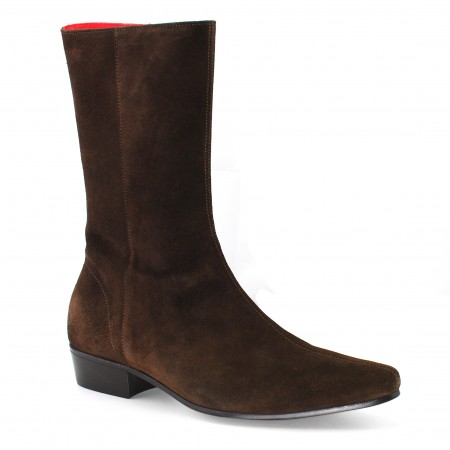 Low Lennon Boot - Chocolate Suede