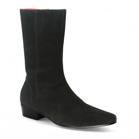 Low Lennon Boot - Black Suede