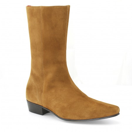 Low Lennon Boot - Tan Suede