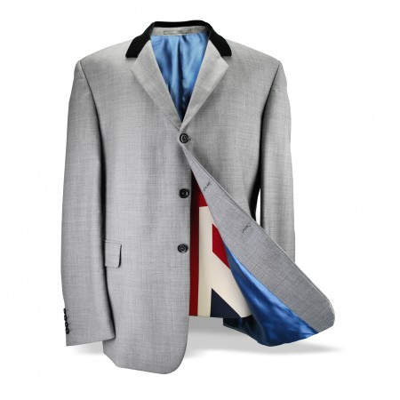 *Final Sale : The Chesterfield Jacket - Silver Grey
