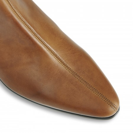 Reduced Sale Price : Low Cavern Boot - Vintage Tan Leather