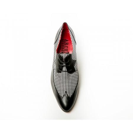 Archie Eyebrows : Luis Shoe - Black Box Calf & Scotland