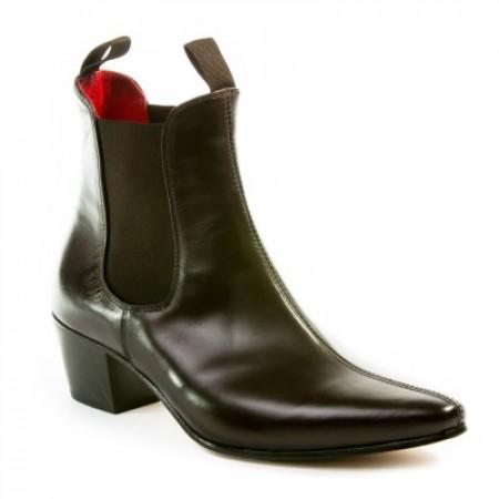 Sale : Original Chelsea Boot - Vintage Dark Brown Leather-47 (UK 13 / US 13.5)
