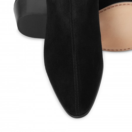 Women's Original Chelsea Boot - Black Suede