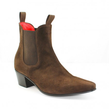 Sale : Original Chelsea Boot - Chocolate Suede-47 (UK 13 / US 13.5)