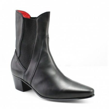 Sale : High Point Boot - Black Calf Leather-41 (UK 7 / US 7.5)