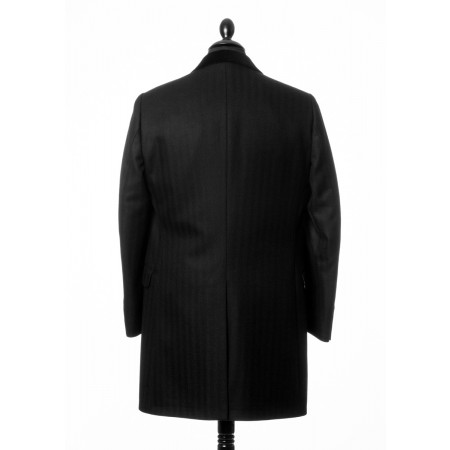 Sale : The Chesterfield Overcoat  - Black