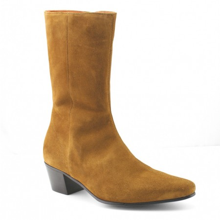 Discontinued : High Lennon Boot - Tan Suede-40 (UK 6 / US 6.5)