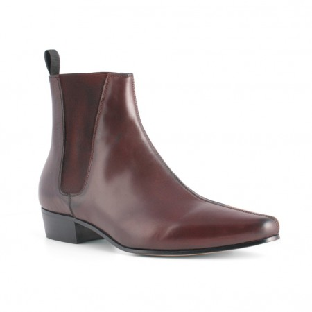 Sale : Low Cavern - Burgundy Leather (old)-48 (UK 14 / US 14.5)