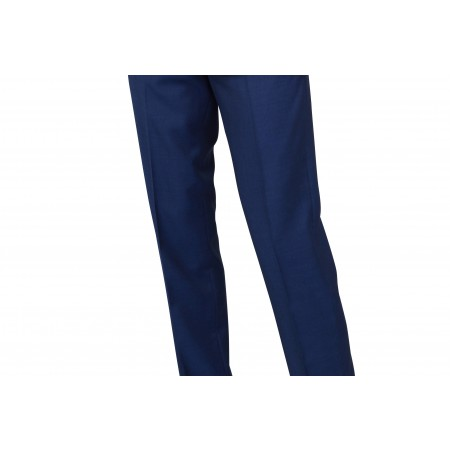 SALE : The London Mod Trousers -  Vibrant Blue Drainpipe