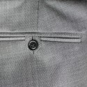 The Chesterfield Trousers - Silver Grey Drainpipe
