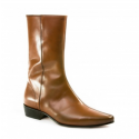 SALE: Low Lennon Boot - Vintage Tan Calf-41 (UK 7 / US 7.5)