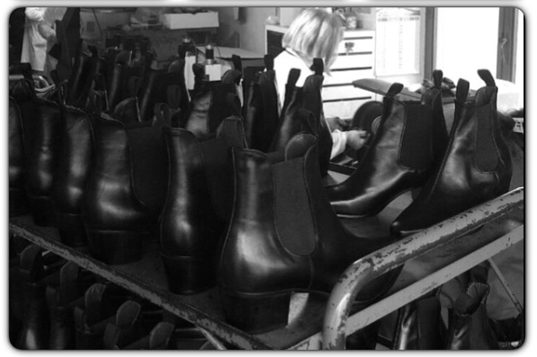 Beatwear Boots Being Made