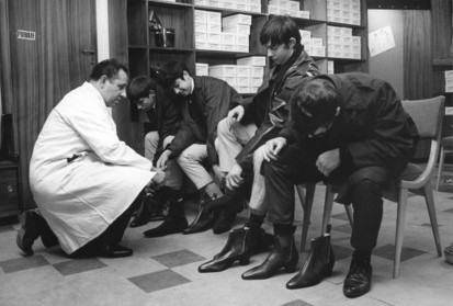 Boot shopping in the 1960's